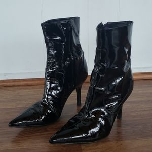 Cole Haan x Nike Air 7.5 Patent Leather Booties